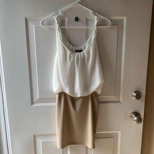 Peplum type dress